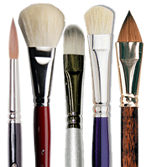 Shop for artist brushes
