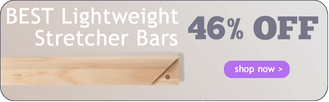 46% Off BEST Heavy Duty Stretcher Bars