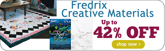 Up to 42% Off Fredrix Creative Materials