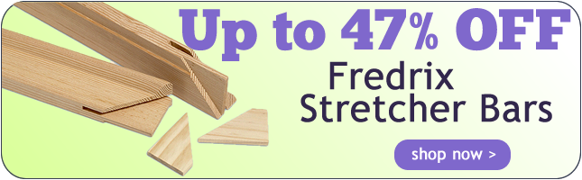 Up to 47% Off Fredrix Stretcher Bars