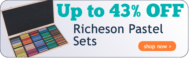 Up to 43% Off Richeson Pastel Sets!
