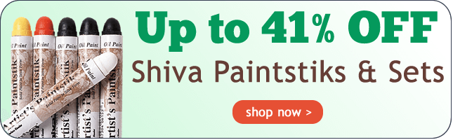 Up to 41% Off Shiva Paintstiks and Sets